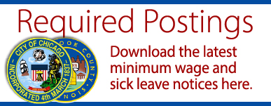 Sick Leave Minimum Wage required postings