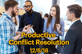 productive conflict resolution