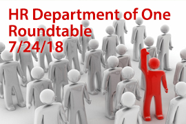 HR Department of One Roundtable