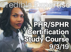 PHR SPHR Certification Class