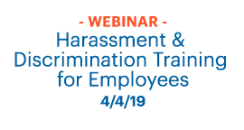 harassment Discrimination training