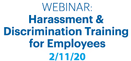 harassment Discrimination training employees