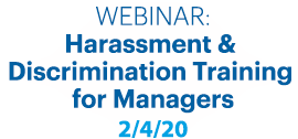 harassment Discrimination training managers