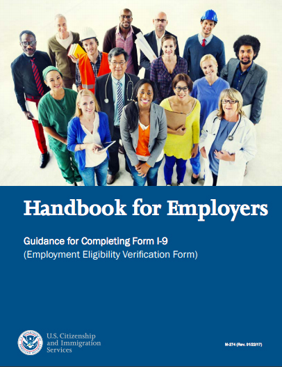 Uscis Releases Updated I 9 Handbook For Employers