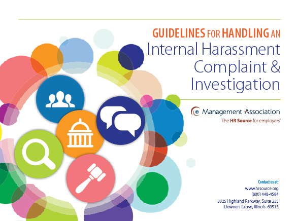 Harassment Complaint and Investigation Guidelines