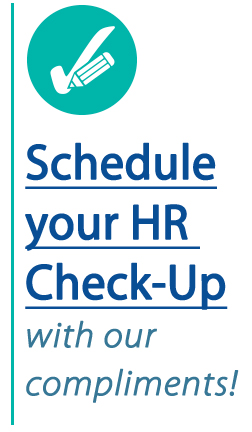 Schedule your HR Check-up.