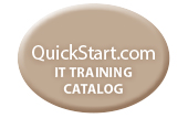 QuickStart IT training catalog