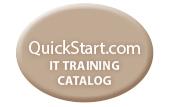 QuickStart IT training catalog