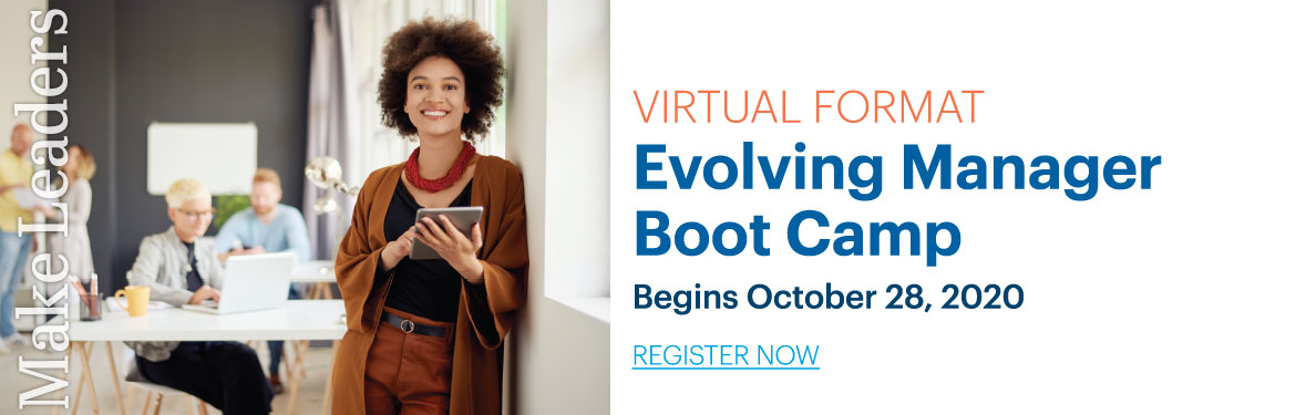 Evolving Manager Boot Camp