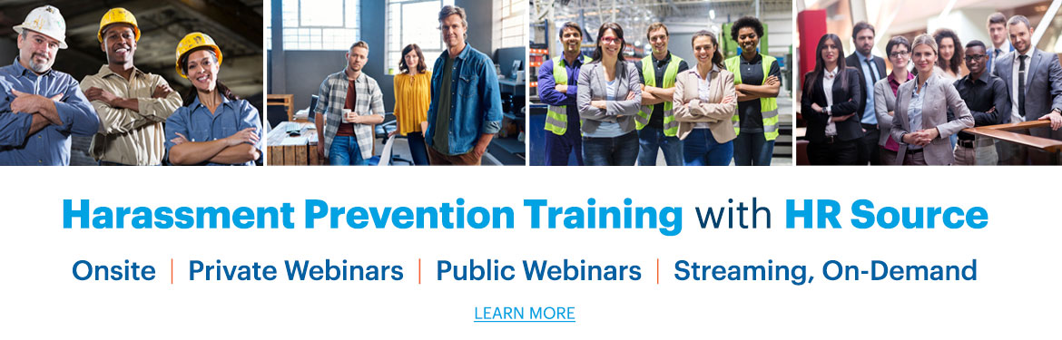 Harassment Prevention Training with HR Source