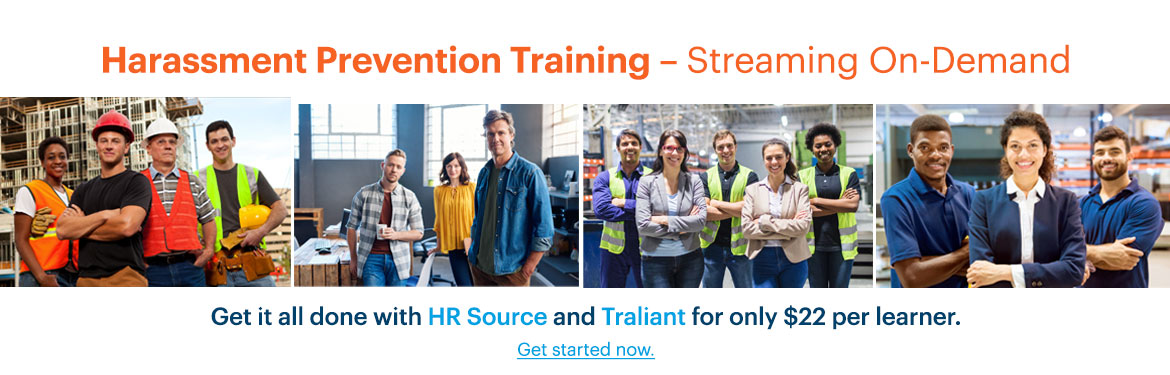 harassment prevention training streaming online