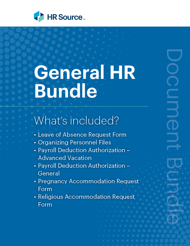 General HR Bundle