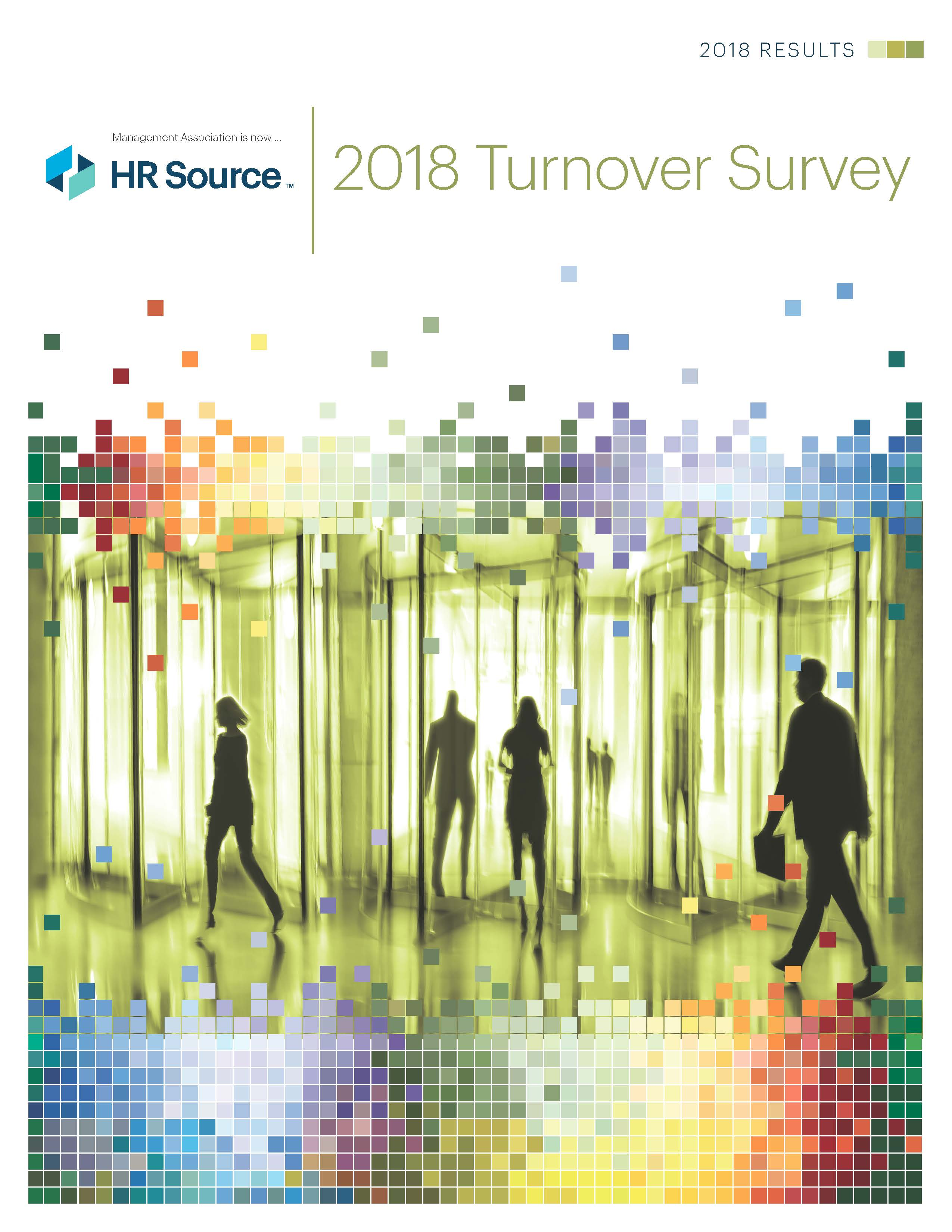 Turnover Survey 2018 (Members Only)